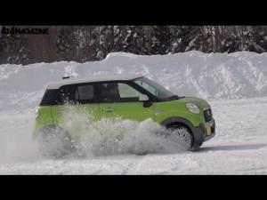 ダイハツ キャスト アクティバ:雪上インプレッション